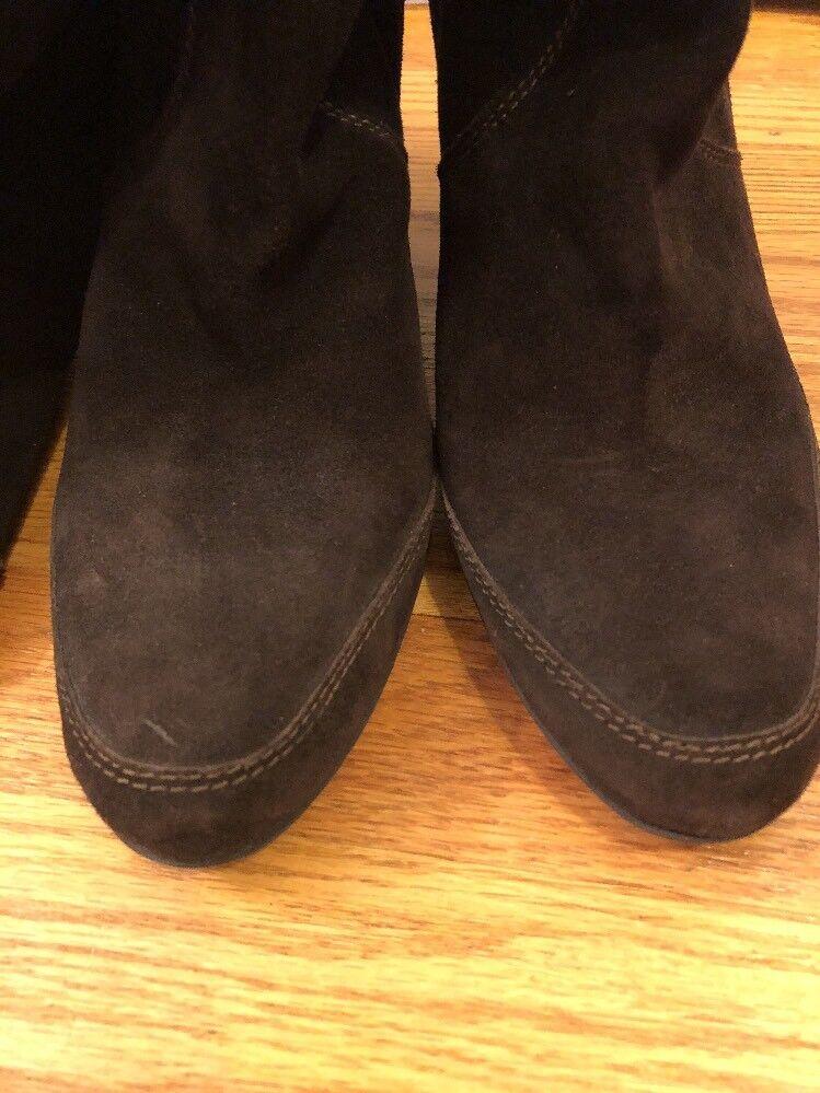 ROBERTO BOTTICELLI Salmaso Nappa High High High Heels Stiefel SUEDE damen Sz 40 9.5 10  s1 09bae9