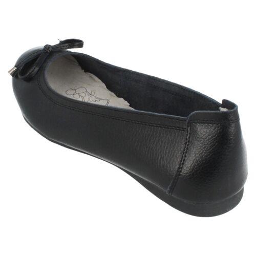 F8r0380 Terre Sur Détail À Plates Enfiler Chaussures Avec Mesdames Nœud 5fgwz1qFz