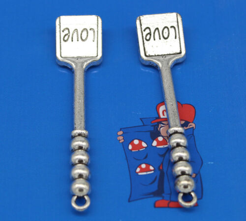 Free shipping Cooking  shovel alloy charm pendants 67*15mm