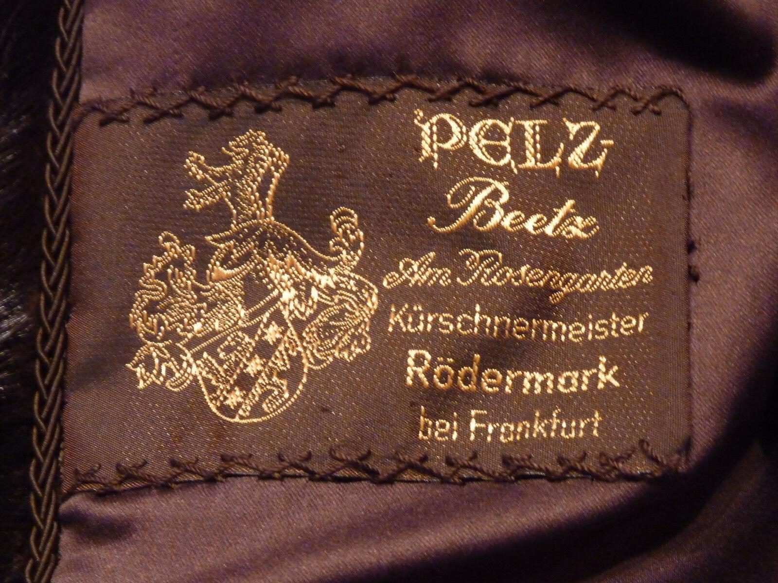 Pelzmantel Gr. L echter Pelz Nerz-Pfoten Mantel mit mit mit Nerzkragen, getragen | Attraktive Mode  | Niedriger Preis und gute Qualität  733ef6