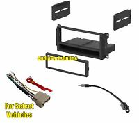 Single Din Car Radio Kit Combo For Select Dodge Nitro Grand Caravan Challenger