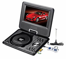 "7"" Portable Rotatable DVD Player MP5 Player with Game/FM/USB/SD Play Function"