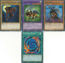 Chimera The Flying Mythical Beast + Gazelle + Berfomet + Polymerization - Yugioh