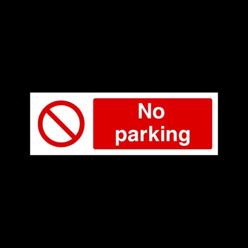 Private Property Plastic Sign Sticker All Materials /& Sizes No Parking