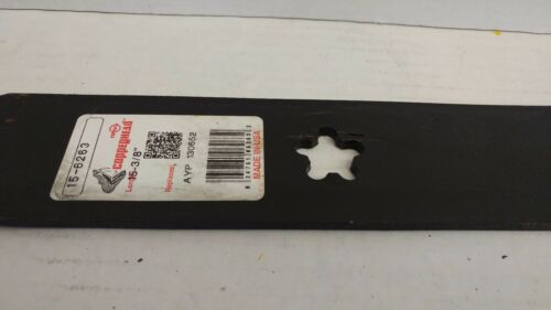 """Qty-3 15-3//8/"""" Rotary 15-6263 Mower Blade for 44/"""" cut AYP//Roper//Sears//Poulan//"""