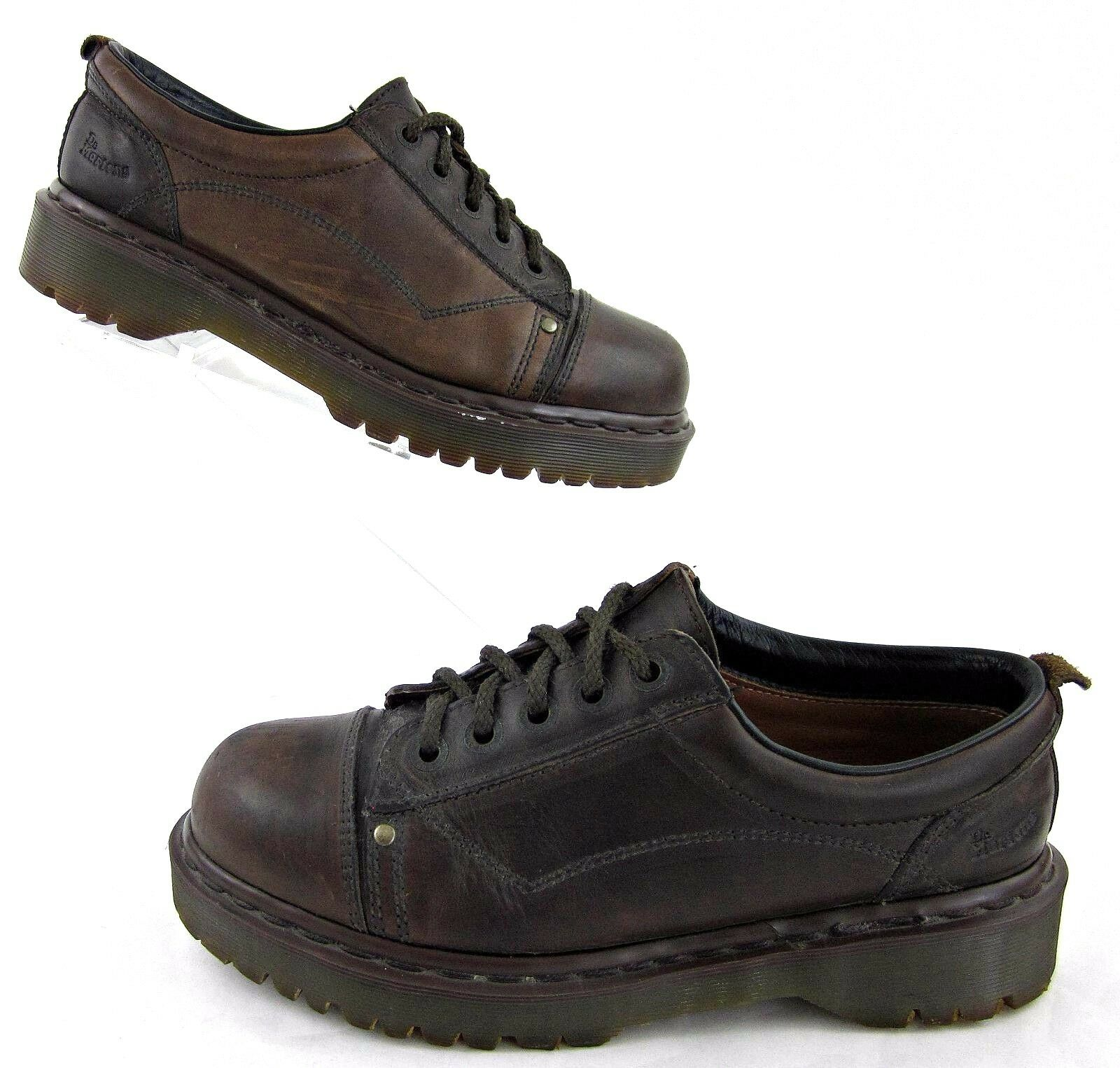 Dr. Martens 8322 Cap Toe Oxford Shoes Brown / US 9 Made In England