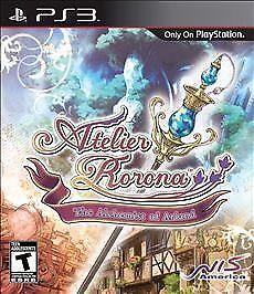 Atelier Rorona: The Alchemist of Arland (Sony PlayStation 3, 2010)M
