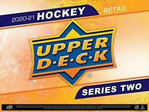 2020/21 Upper Deck Series 2 Hockey 24-Pack Box Sealed Retail Box In Hand