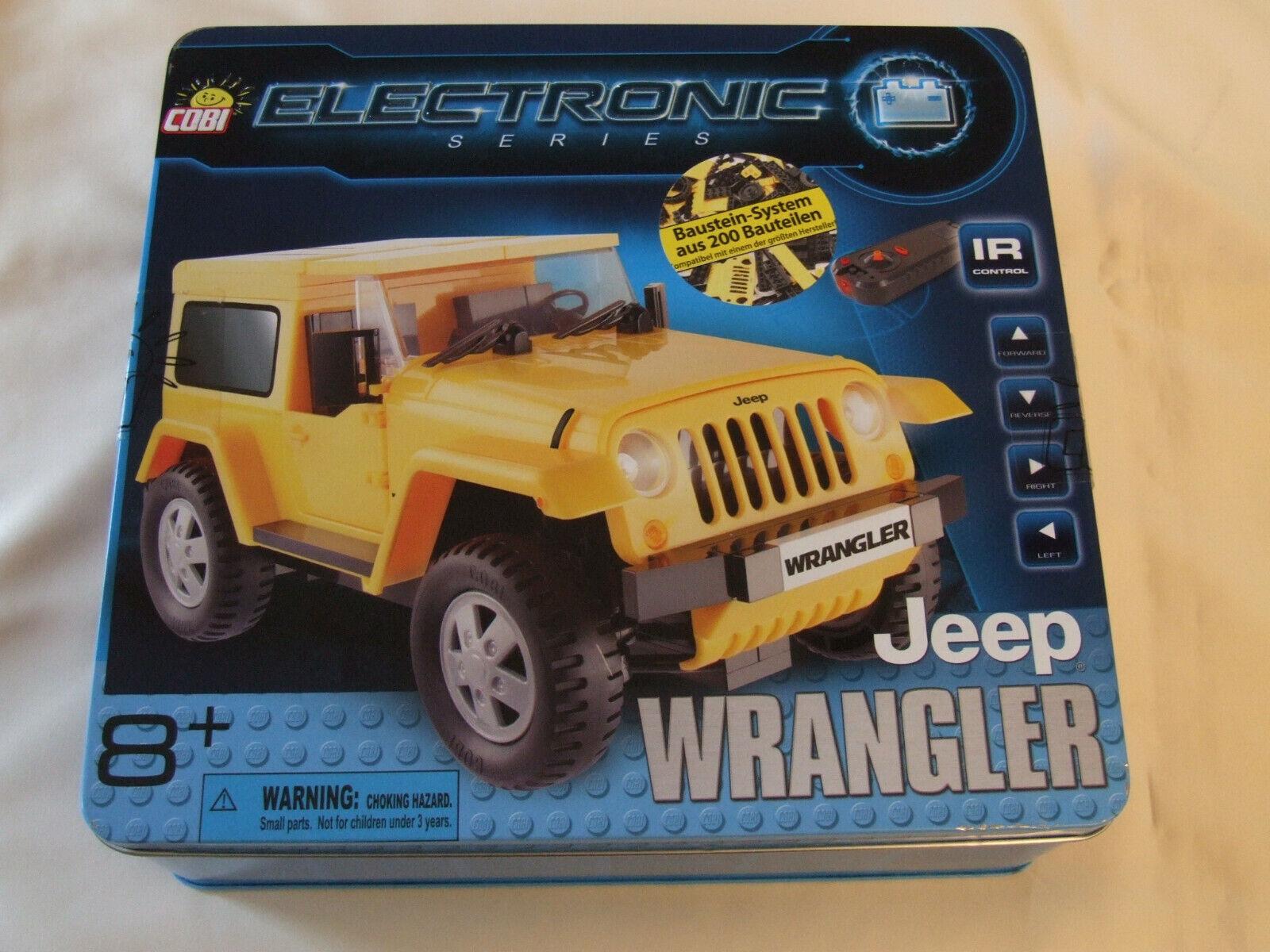 Cobi Jeep Wrangler   Klemmbaustein-Bausatz mit Fernsteuerung   NEU