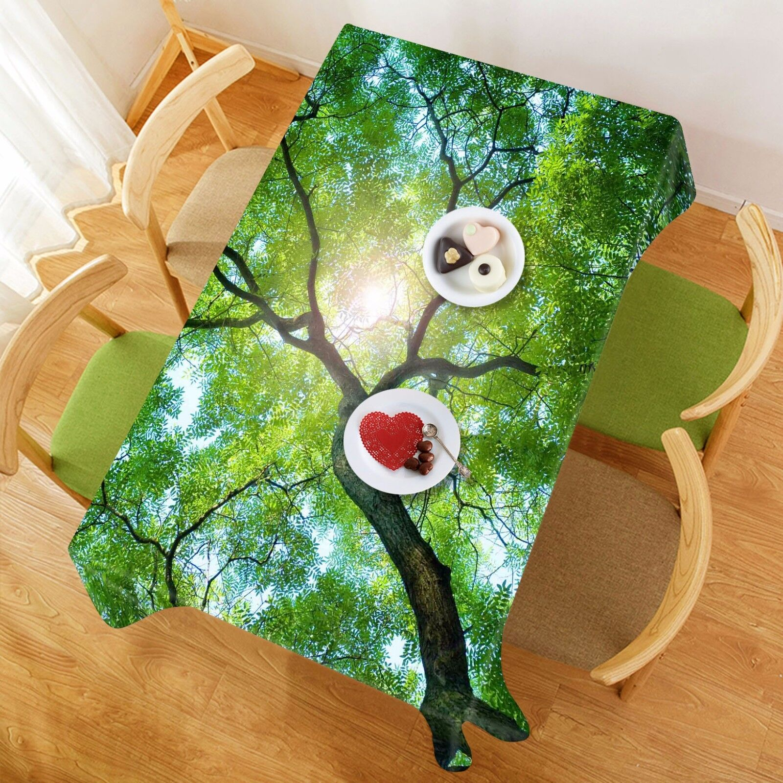 3D Twig  4668 Tablecloth Table Cover Cloth Birthday Party Event AJ WALLPAPER AU