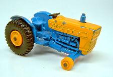 Matchbox RW 39C Ford Tractor dunkelblau & gelb