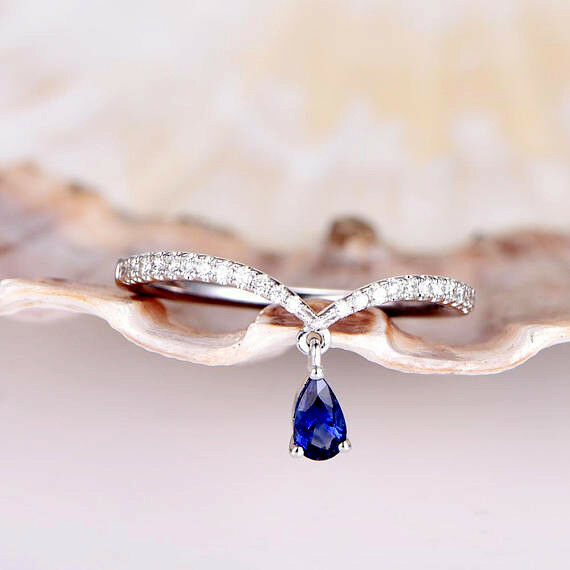 Fine Jewelry Fine Anklets Conscientious 14k White Gold Anklet Bracelet With Blue Topaz Gemstones 10 Inches
