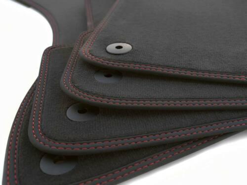 Nuevo tapices VW Tiguan r-line tuning track style Sport alfombra coche doble costura