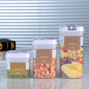 Am-KQ-BU-Rectangular-Dry-Food-Cereal-Flour-Beans-Airtight-Flip-Storage-Contai