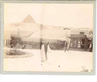 Egypte, Le Caire  Vintage print.  Tirage citrate  8x10  Circa 1900  Vintag