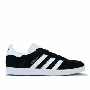 Men-039-s-adidas-Originals-Gazelle-Scarpe-da-ginnastica-in-Nero