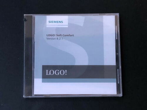 Siemens Logo Soft compfort v8.2.1 programme logiciel original 6ed1058-0ba08-0ya1