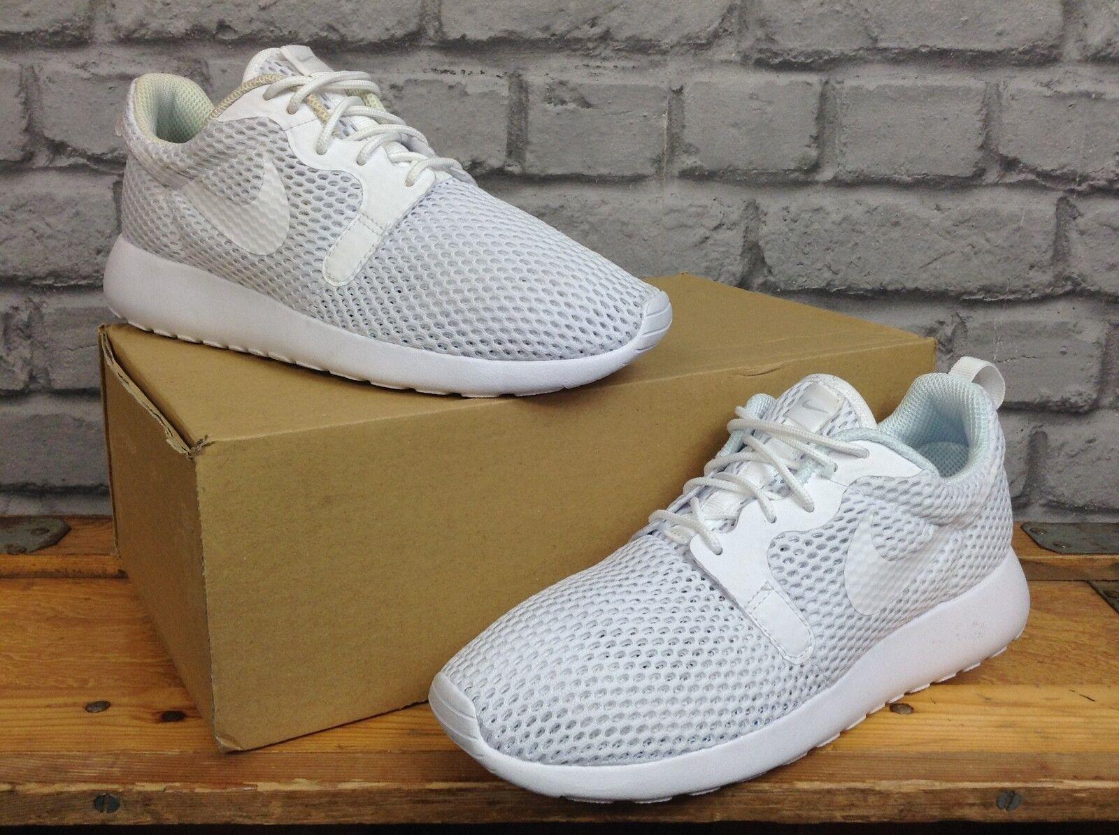 Nike De Las Señoras UK 5.5 EU 39 blancoo roshe roshe roshe Hyperfuse respirar entrenadores 807a44
