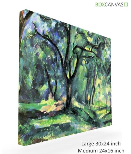 Paul Cezanne French Post Impressionist 4 Forest CANVAS PICTURE WALL ART