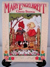 Mary Engelbreit Cross Stitch First Cross Stitch Book Hardcover 1996 Retail $27