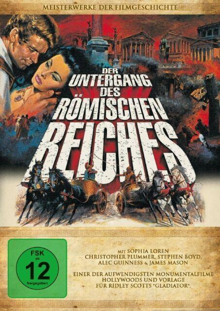DER UNTERGANG DES RÖMISCHEN REICHES - SOPHIA LOREN/STEPHEN BOYD/+  DVD NEUF