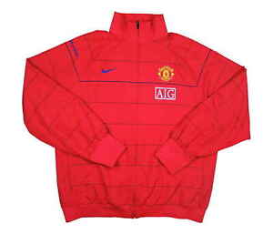 Manchester-United-2008-09-Authentic-Training-Jacket-OTTIMO-XL-soccer-jersey