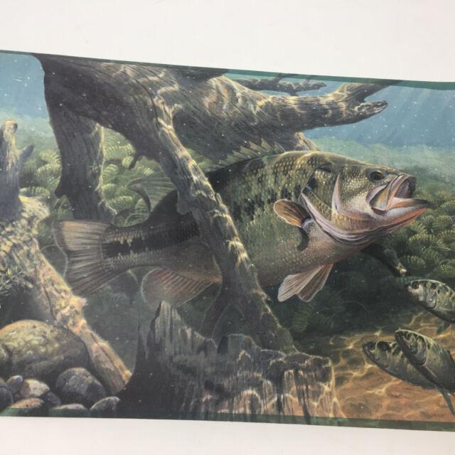 """YORK TROPICAL FISH Wallpaper Border 9/"""""""