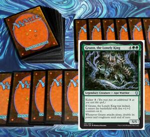 mtg-GREEN-GRUNN-COMMANDER-EDH-DECK-Magic-the-Gathering-rare-cards-garruk-jugan