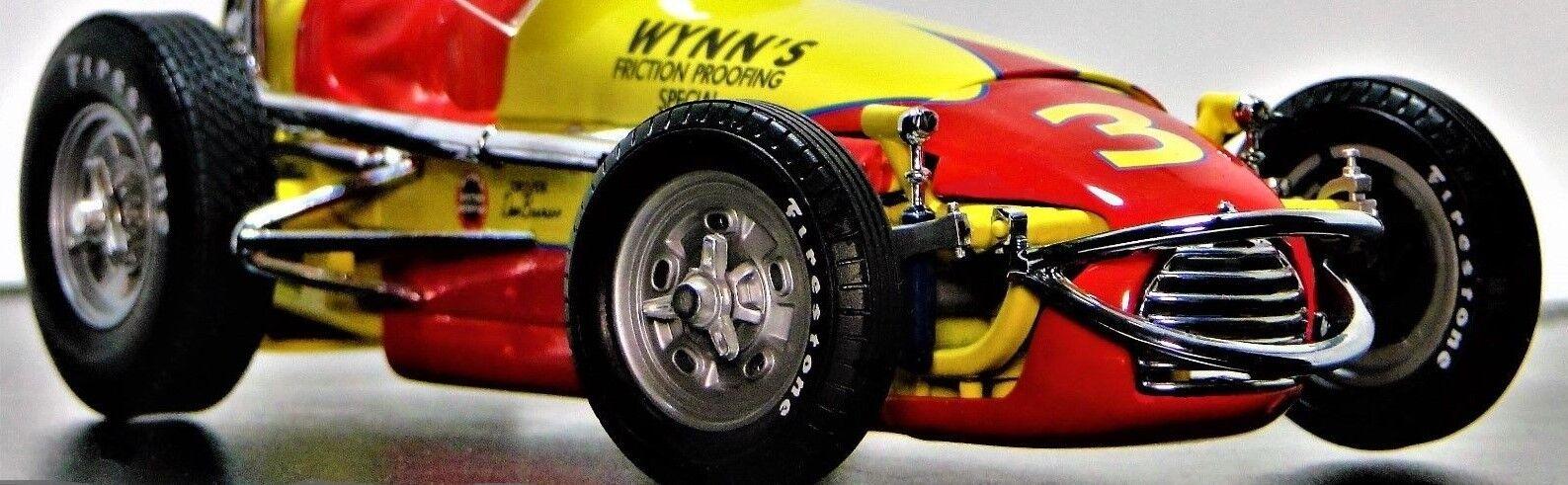 Race Car Ferrari F 1 1 1 GP 18 1960s 43 Vintage 24 Carousel Red 12 64 8 6484aa