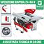 Banco-sega-circolare-banchetto-800-W-EINHELL-TC-TS-820-4340410-taglia-legna-B miniatura 1