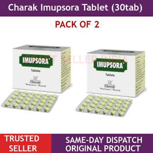 2 X 30 Tabletten Charak Imupsora Für Schuppenflechte Skin Care Ayurveda Heilt Im