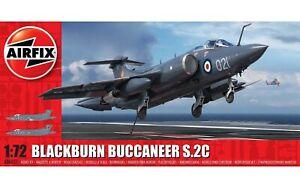 AIRFIX-1-72-BLACKBURN-BUCCANEER-MK-2-S-2C-MODEL-AIRCRAFT-FIGHTER-JET-A06021