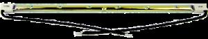 Elemento di ricambio VITTORIA HLW15G e HLW15BC 1.5kw GOLD Patio Riscaldatore Lampadina Lampada