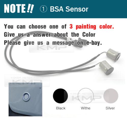 Blind Spot Assist Warning LED Sensor Light Back Up Alarms Buzzer For TOYOTA