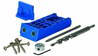 Kreg 305380 7pce HD Jig Heavy Duty Pocket Hole Jig KJHD