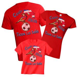 9031bbf3367 Costa Rica World Cup 2018 Football Mascot T-Shirt Choice Of MENS ...