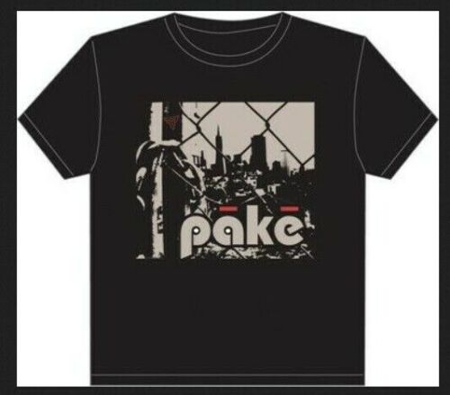 Pake My City Bicycle T-Shirt Small S Fixie Fixed Black USA Shipper For Charity!