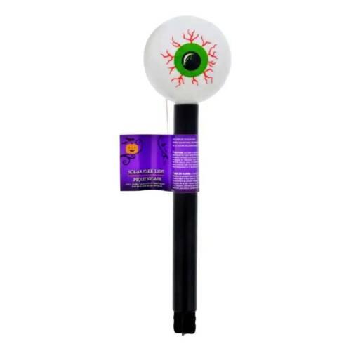 14 in. Set of 4 Eyeball Solar Stake Lights