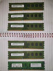 Micron-RAM-Bulk-20GB-5x4GB-PC3-12800U-DDR3-1600MHz-Desktop-Server-MT16JTF51264AZ