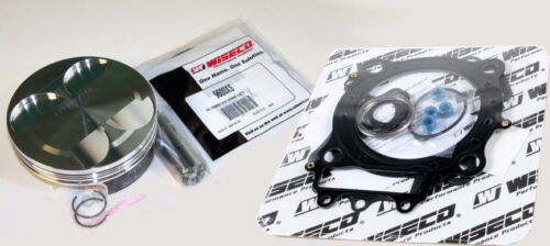 Wiseco HONDA TRX450R TRX 450 R 450R 96mm 12:1 Comp piston TOP END KIT 2006-09