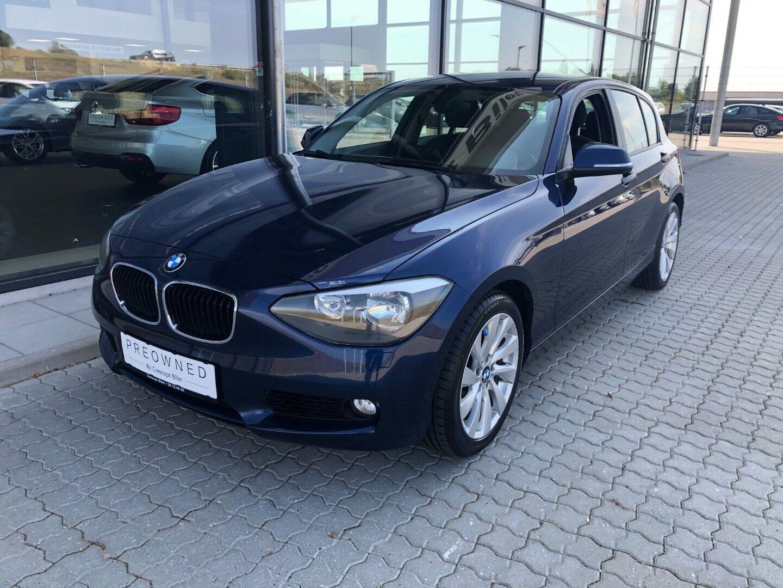 BMW 120d 2,0 aut. 5d - 124.995 kr.