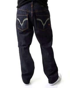 Rocawear-Roc-Estrella-Denim-Jeans-De-Hombre-Urban-Tiempo-Es-Dinero-G-Hip-Hop-Club-Wear