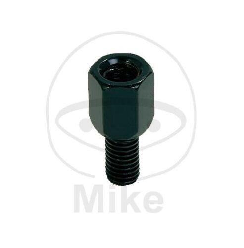 KTM LC4 620,625,640,660 Enduro Adventure Spiegeladapter schwarz M10 Li auf M8 Re