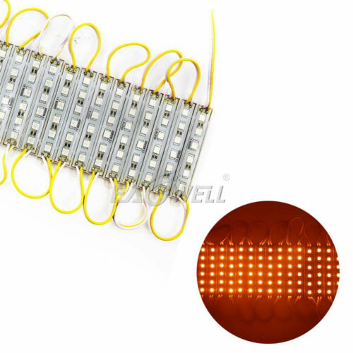 US Yellow SMD 5050 6 Leds Module Light Waterproof IP65 For Sign Advertising Lamp