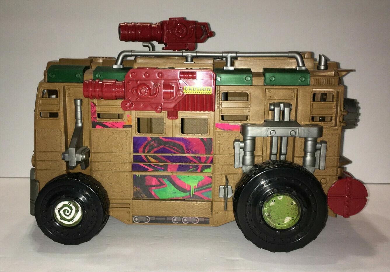 Used Teenage Mutant Ninja Turtles Shellraiser Street to Sewer Assault Van. TMNT.