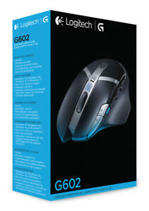 Details about New Logitech G602 Gaming Wireless Optical Mouse with 250 Hour  Battery Life