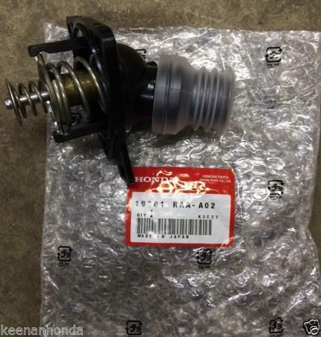 Genuine Honda Engine Thermostat with Gasket 19301-RAA-A02