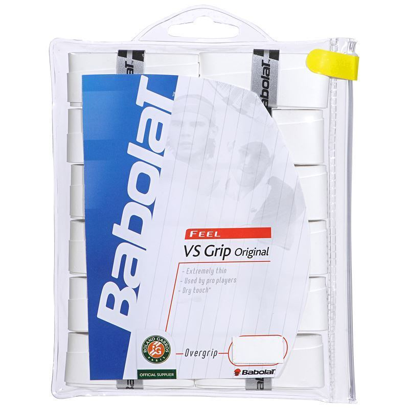 NEW Babolat VS Original FEEL Tennis Overgrip 30-Pack Tennis with STORAGE BAG