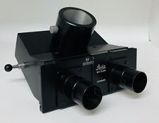 Leitz Germany Trinocular Photo Tube Microscope Head 43mm Dovetail Fitment