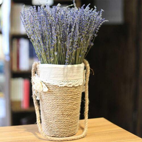 100Pcs Natural Lavender Bouquet Dried Flowers Immortal Flower Decorative Craft